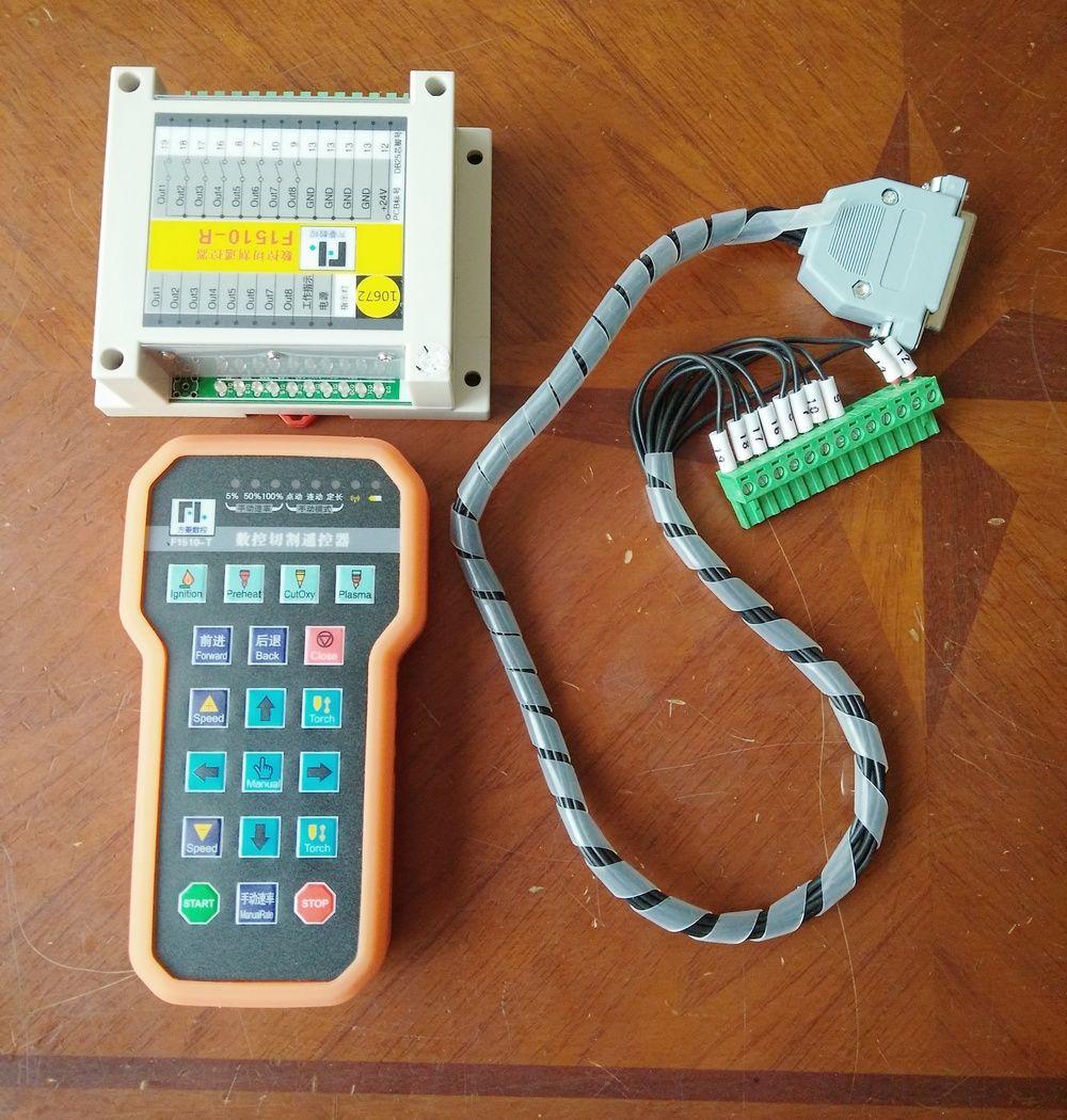 CNC Wireless Remote Control pad handle cnc Control System plasma Cutting Machine F1510 for f2100 2300
