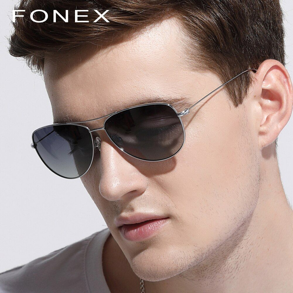 B Pure Titanium Sunglasses Men Hot Oliver Ultralight Rays Protection Aviation Sun Glasses for Women Polarized Mirrored Peoples