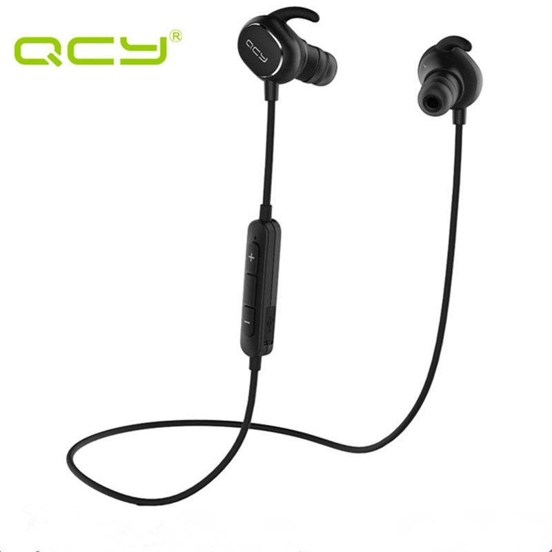 QCY QY19 in-ear Bluetooth headset gamer wireless sports running earphone waterproof earbuds noise cancelling and QCY storage box