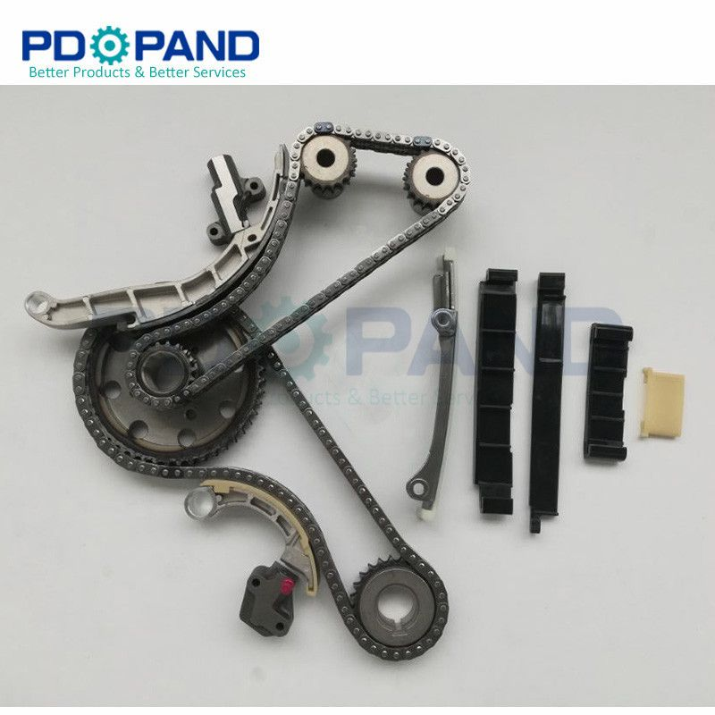 Timing Chain Kit For Nissan NAVARA Pathfinder Frontier D40 D22 R51 R52 Murano NP300 NV350 pickup YD25DDTi Double Row