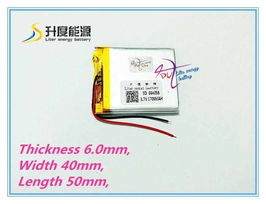 Liter energy battery Y70 road route T71 battery 064050 604050 3.7V lithium battery 1700MAH navigator