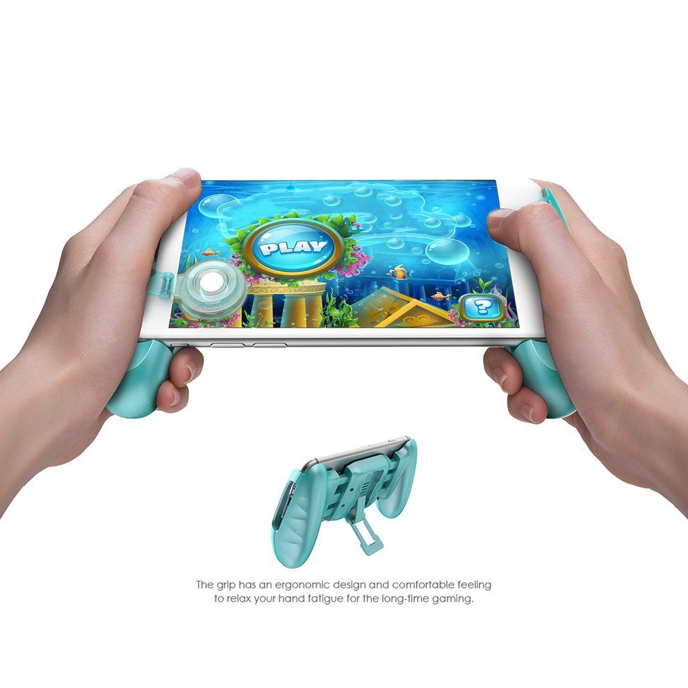 GameSir F1 <font><b>Joystick</b></font> Grip with Swing Arm Extended Handle Game Accessories Controller Grip for All SmartPhone PINK BLUE BLACK