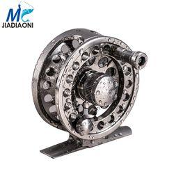 Jiadiaoni Stainless Steel Kualitas Tinggi Fly Fishing Reel 2 + 1BB Kanan Kiri Tangan Memancing Reel Fishing Tackle
