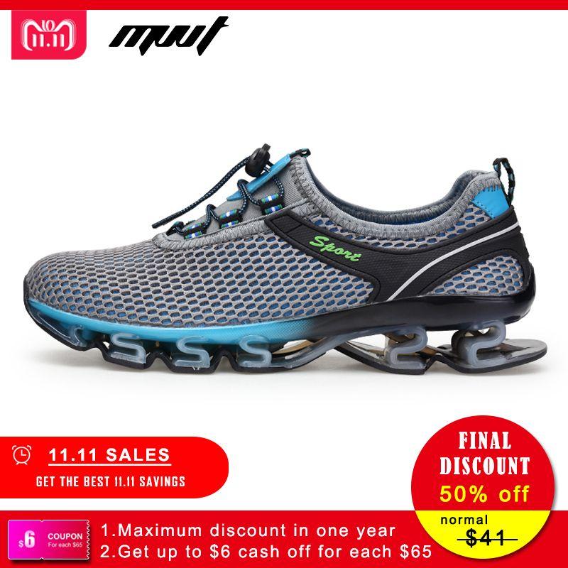 Super Cool Respirant Chaussures de Course Hommes Sneakers Rebond D'été En Plein Air Sport Chaussures de Formation Professionnelle Chaussures Plus La Taille 47