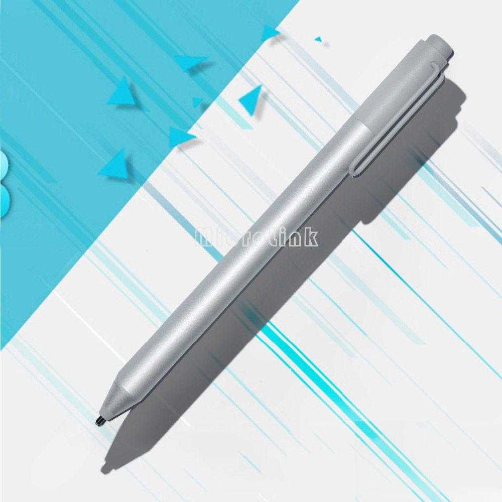 Neue Stylus Stift für Microsoft Oberfläche Pro 3 Pro 4 Silber Blutooth Kapazitive Kugelschreiber