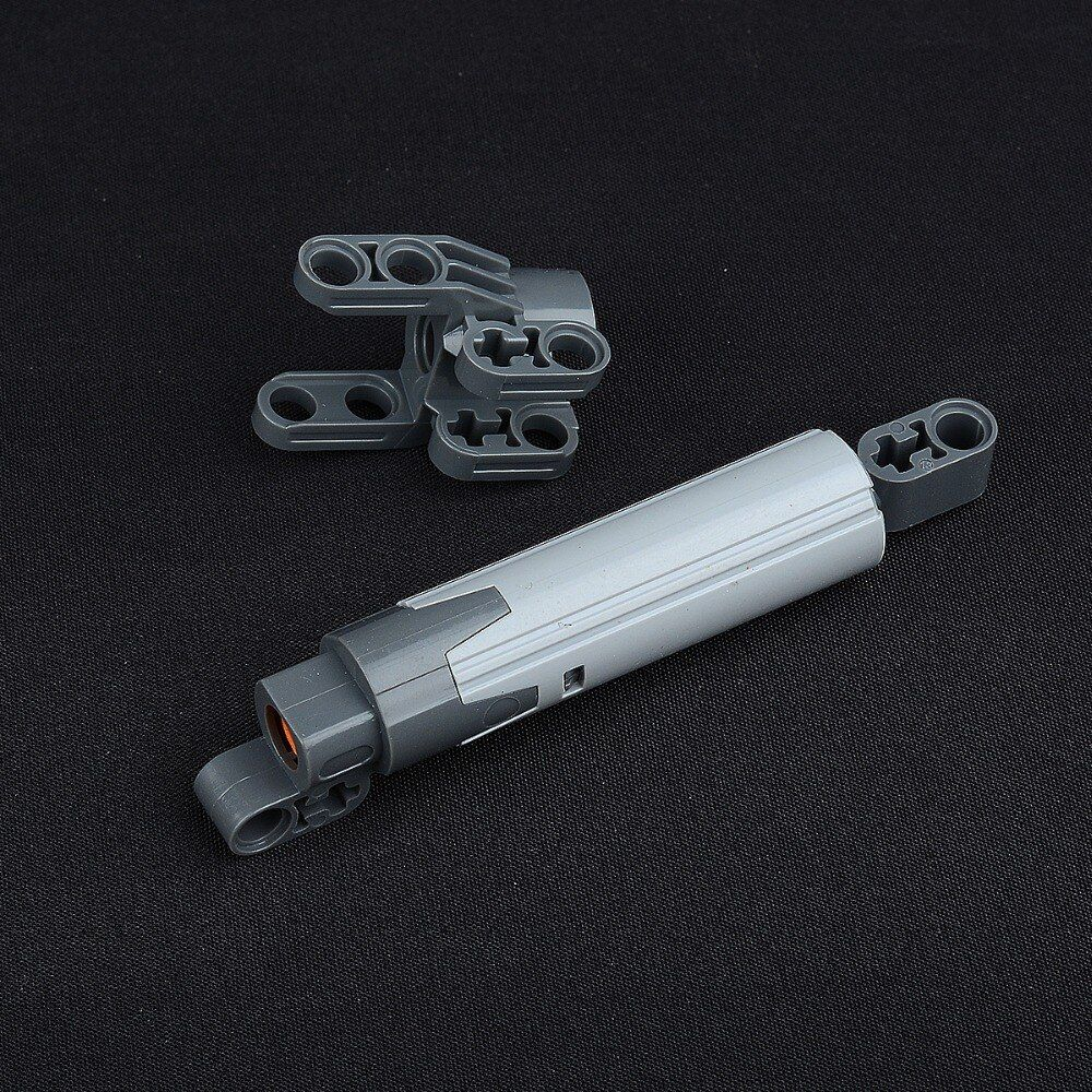 PART 61927b Technic Linear Actuator with Dark Bluish Gray Ends [Improved Version] 61904 MOC LegoINGlys