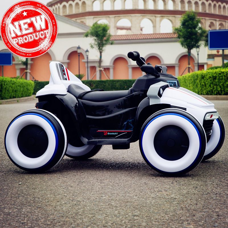 2018 children kid baby electric car rideable Luminous four-wheeled motorcycle with remote control Can ride off-road vehicles