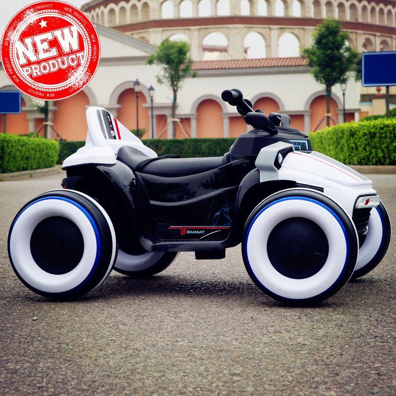 2018 kinder kind baby elektrische auto rideable Leucht vier-rädern motorrad mit fernbedienung Können fahrt off-road fahrzeuge