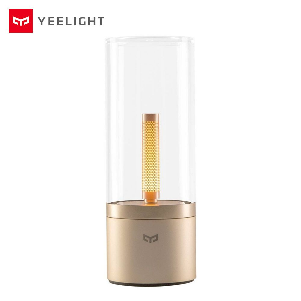 Yeelight Candela LED Smart Candle Light Atmosphere Lamp Rotate Dimming Bedroom Bedside Night Light for Xiaomi Mi Home App