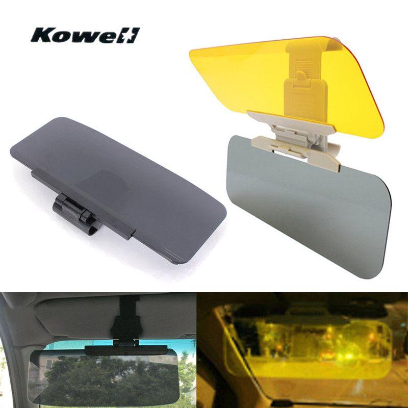 Universal Sunvisor Adjustable AntiGlare Day Night Vision Light Shield Goggle Driving Mirror Sun Visor Anti Dazzling Mirror