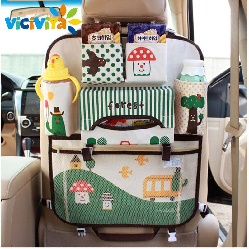 Seat Storage Bag Waterproof Universal Baby Stroller Bag Organizer Baby Car <font><b>Hanging</b></font> Basket Storage Stroller Accessories#