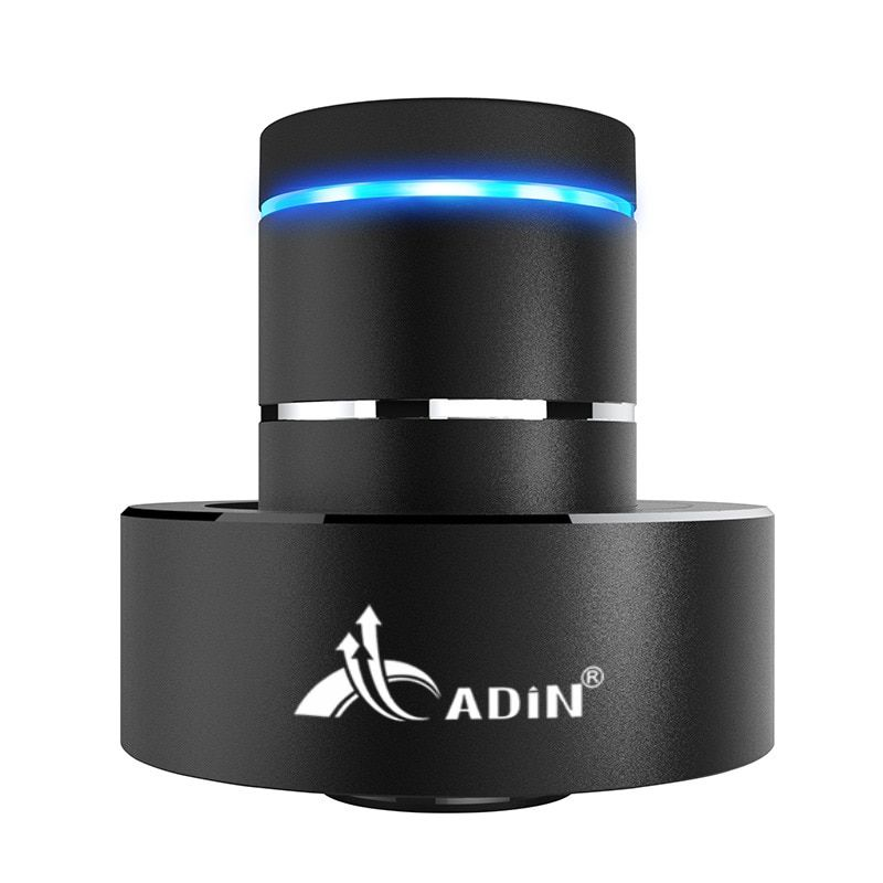 ADIN 26W Metal Vibration Bluetooth Subwoofer Speaker NFC Touch HIFI Portable Mini Wireless Speaker 360 Stereo Sound Loudspeakers