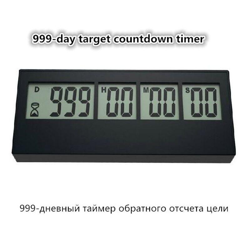 JOUR 999 jours compte à rebours entrée cartes cible compte à rebours PS-110 Compte À Rebours véritable promotion