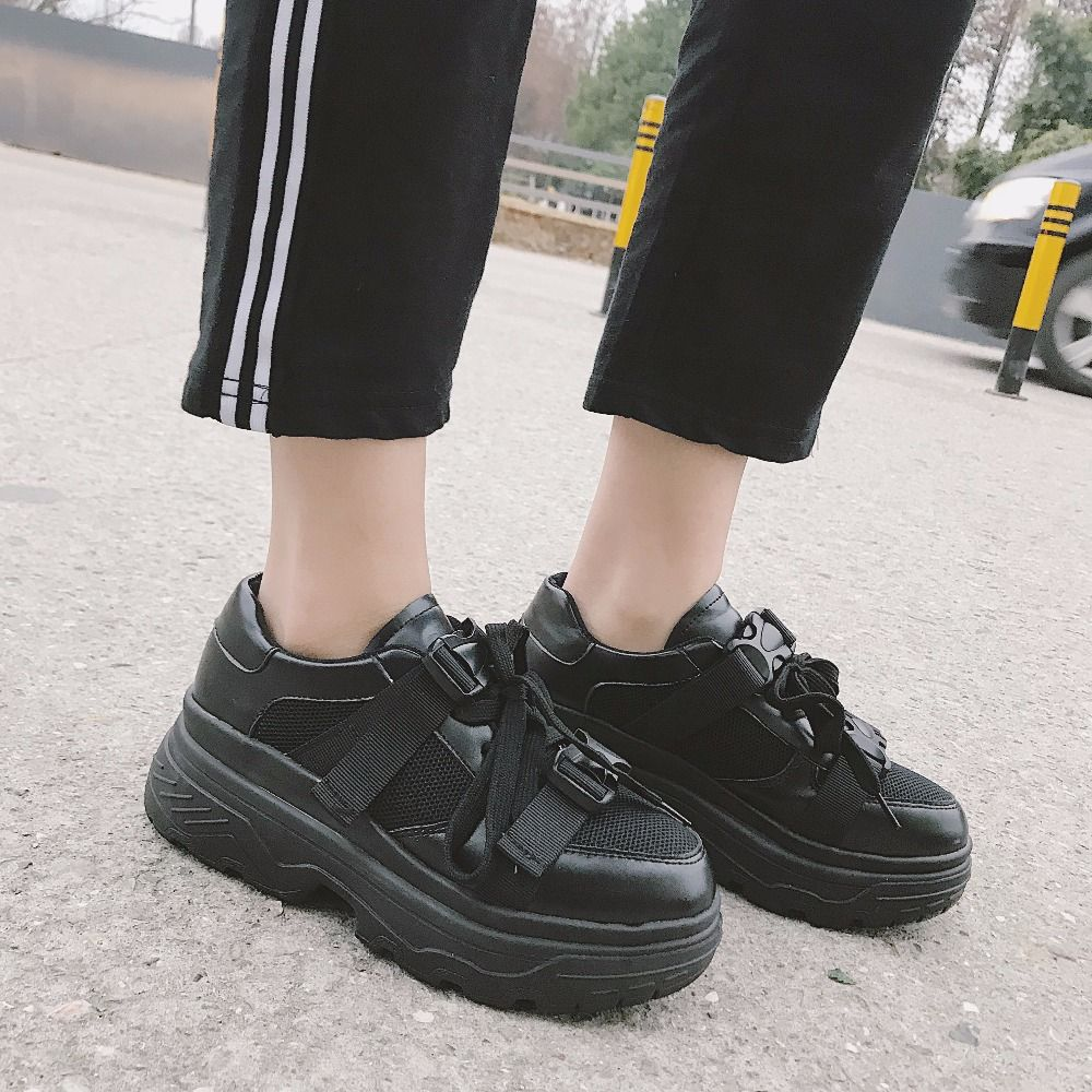 Kjstyrka 2018 Spring Summer New Style Mesh Breathable Comfortable Women Sneakers Casual Shoes Lace Up Woman Flats tenis feminino