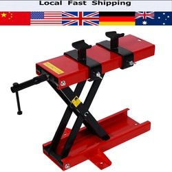 500KG Scissor Hoist Jack Lifting Cranes Motorbike Bike Stand Center Scissor Lift Hoist Workshop Bench Lifting Tools