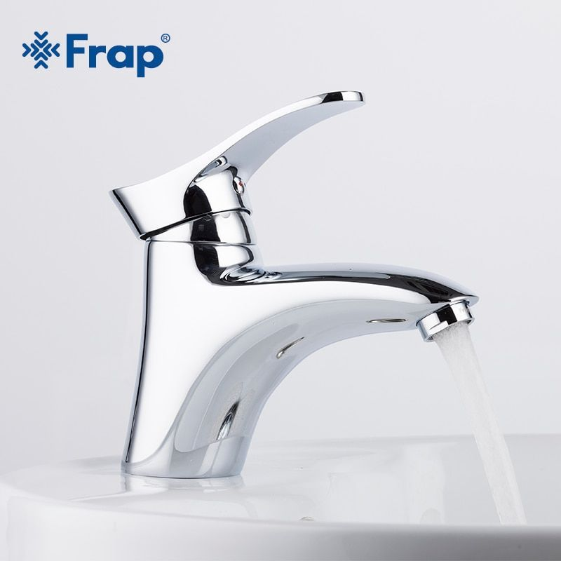 Frap Brass bathroom Basin Taps Faucets Mixer hot and cold water mixer bath sink tap faucet Chrome Finished torneira F1001
