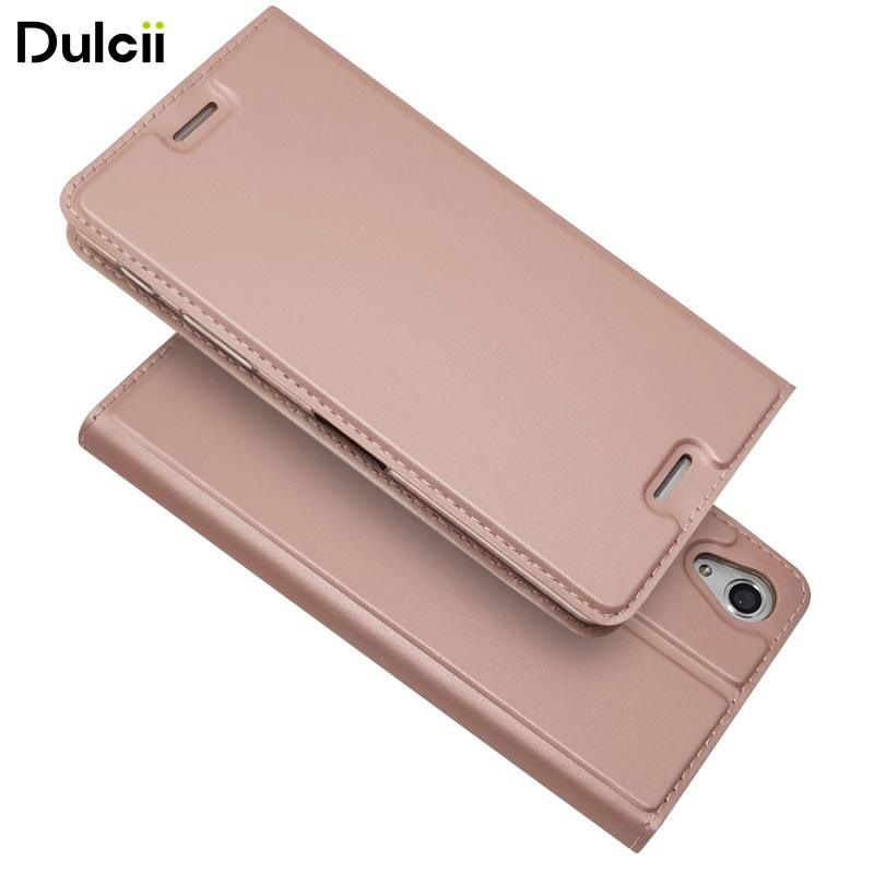 Dulcii For Sony Xperia X Performance Case Magnetic Stand Leather Phone Case with Card Slot for Sony Xperia X Performance - 5.0''