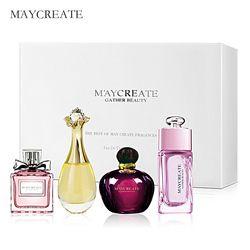 Maycrear 1 Unidades perfume para las mujeres duradera fragancia Parfum mujeres perfume aerosol botella de cristal señora flor perfumes femeninos