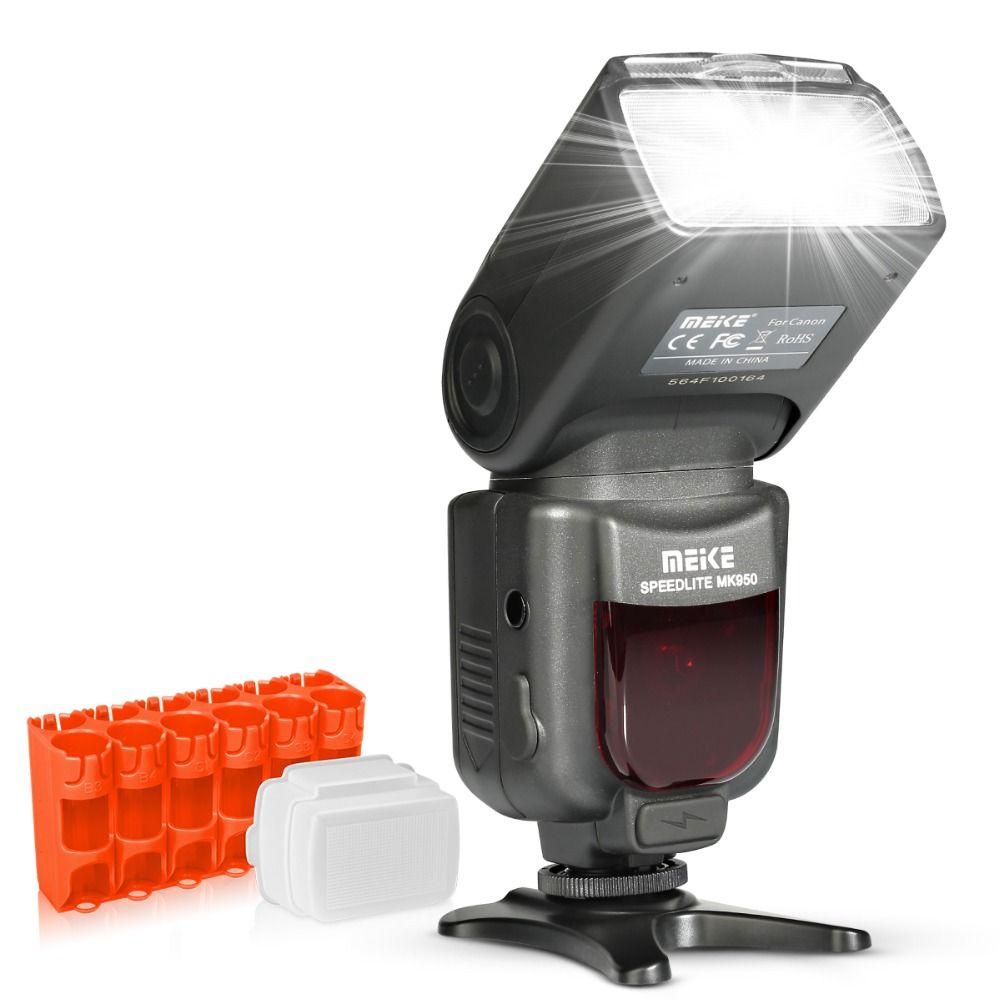 Meike MK950 E-TTL TTL Speedlite Caméra Flash mk950 pour appareil photo Canon EOS 5D II 6D 7D 50D 60D 70D 550D 600D 650D 700D 580EX 430EX