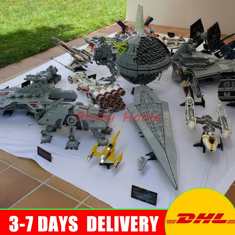 DHL LEPIN Star War 05007 05026 05027 05028 05033 05034 05036 05128 05043 05037 05038 05039 05040 05045 05132 Building Blocks