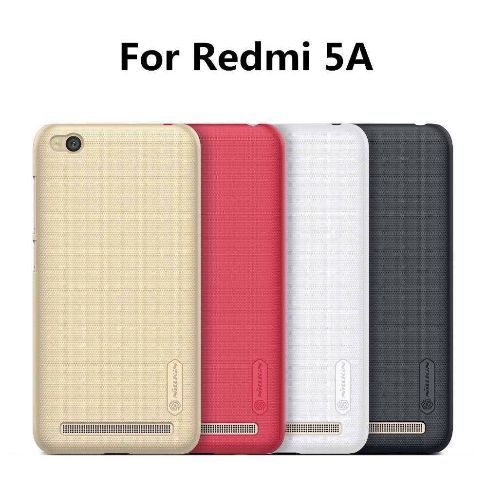 Nillkin Téléphone Sac Cas pour Xiaomi Redmi 5A Dur retour couverture pour mobile téléphone Retour pare-chocs mat En Plastique téléphone Cas Multi-couleurs