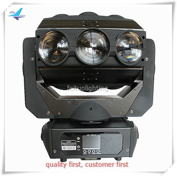 2pcs/lot 9x12W RGBW 4 in 1 Led Spider Beam Moving Head Rotating Dmx Moving Head Sound Active Lumiere Dj Disco Party Stage Light