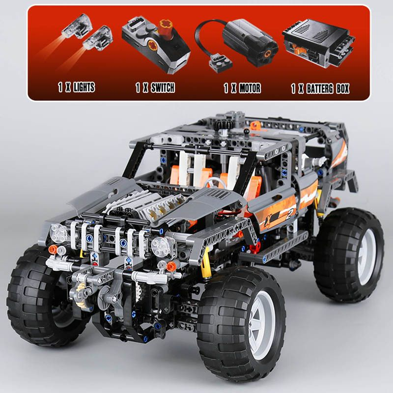 Lepin 20030 1132Pcs Technic Ultimate Series The Off-Roader Set Building Blocks Bricks Educational Toys For Children Gifts 8297