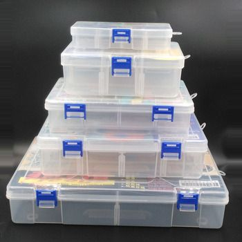 Taiwan Freege Brand Tool Storage Box Made by No.5 Plastic (PP) For Storing Screws, Pins, Clips, IC, Components, Tools, Pills etc
