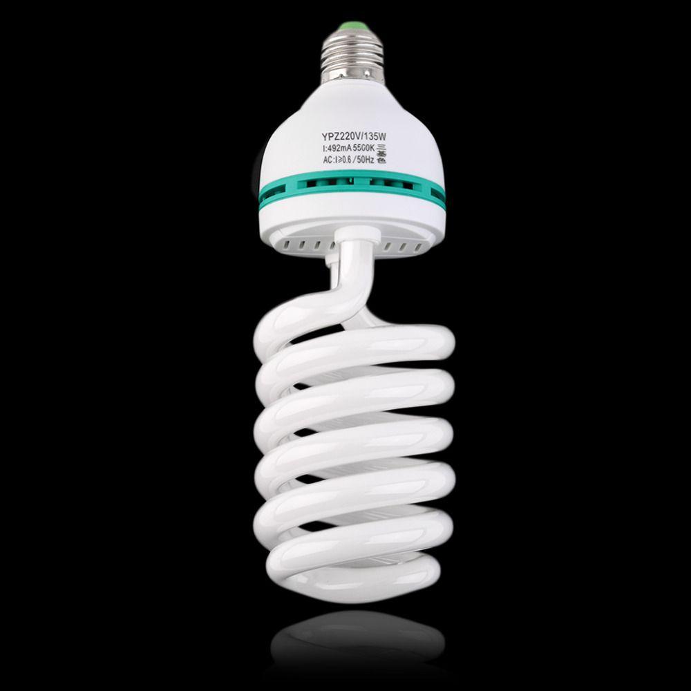 2017 neue Fotolampen E27 220 V 5500 Karat 135 Watt Fotostudio bulb-videoleuchte Licht Fotografie Tageslicht Lampe für digitalkamera