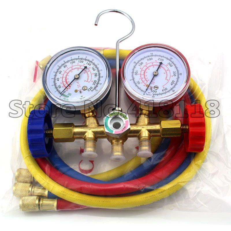R12 R22 R502 Refrigerant Charging Gauge Diagnostic Tool AC Tools