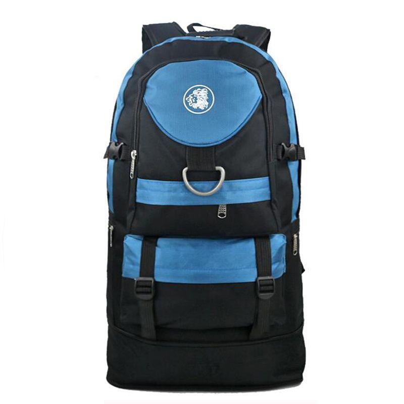 60L extensible en plein air Sport survie sac tactique alpinisme sac à bandoulière grande capacité randonnée sac à dos