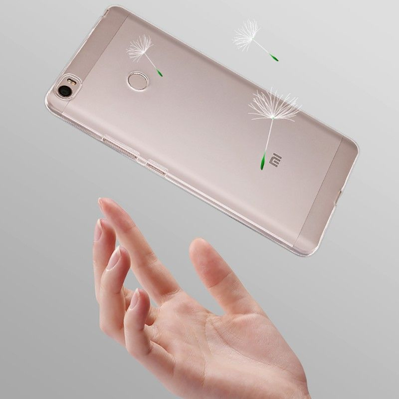 Thin Transparent Clear Soft Rubber Silicon TPU Coque For Xiaomi Mi Max Case Cover Phone Cases Fundas for Xiaomi Mi Max Carcasas