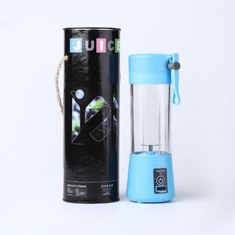 380ml USB Electric Fruit Juicer Machine Portable Blender Shake Handheld Smoothie Maker Rechargeable Juicer Bottle