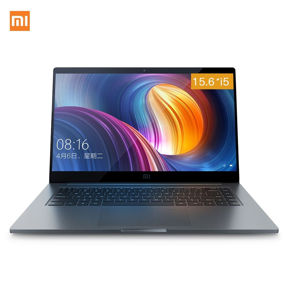 Xiaomi Notebook Pro 15.6'' Intel Core i5 i7 Quad Core Laptop MX150 2GB GDDR5 Fingerprint Recognition 8GB/16GB DDR4 Computer