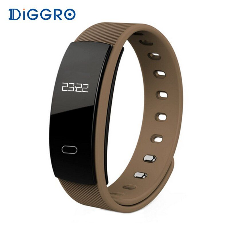 Diggro QS80 Smart Wristband Blood Pressure Fitness Tracker Heart Rate Monitor Sleep Tracker Bracelet Smartband For IOS Android