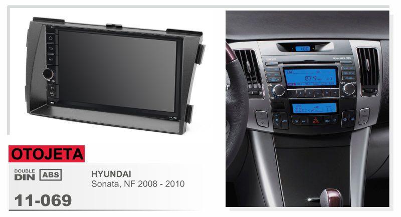 Navirider Android 8.1 auto multimedia player band recorder (rahmen + radio serie) fit für hyundai sonata NF 2008-2010 GPS