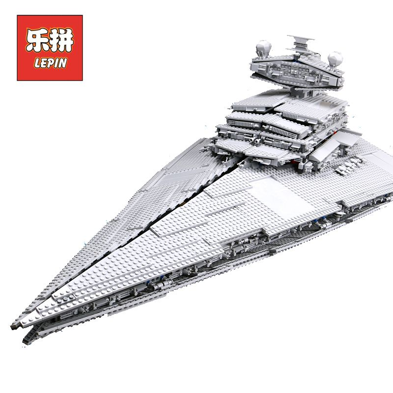 LEPIN 05027 Emperor Fighters Ship Star War legoing 10030 Destroyer Starship Building Blocks Brick Educational Children Toy Gift