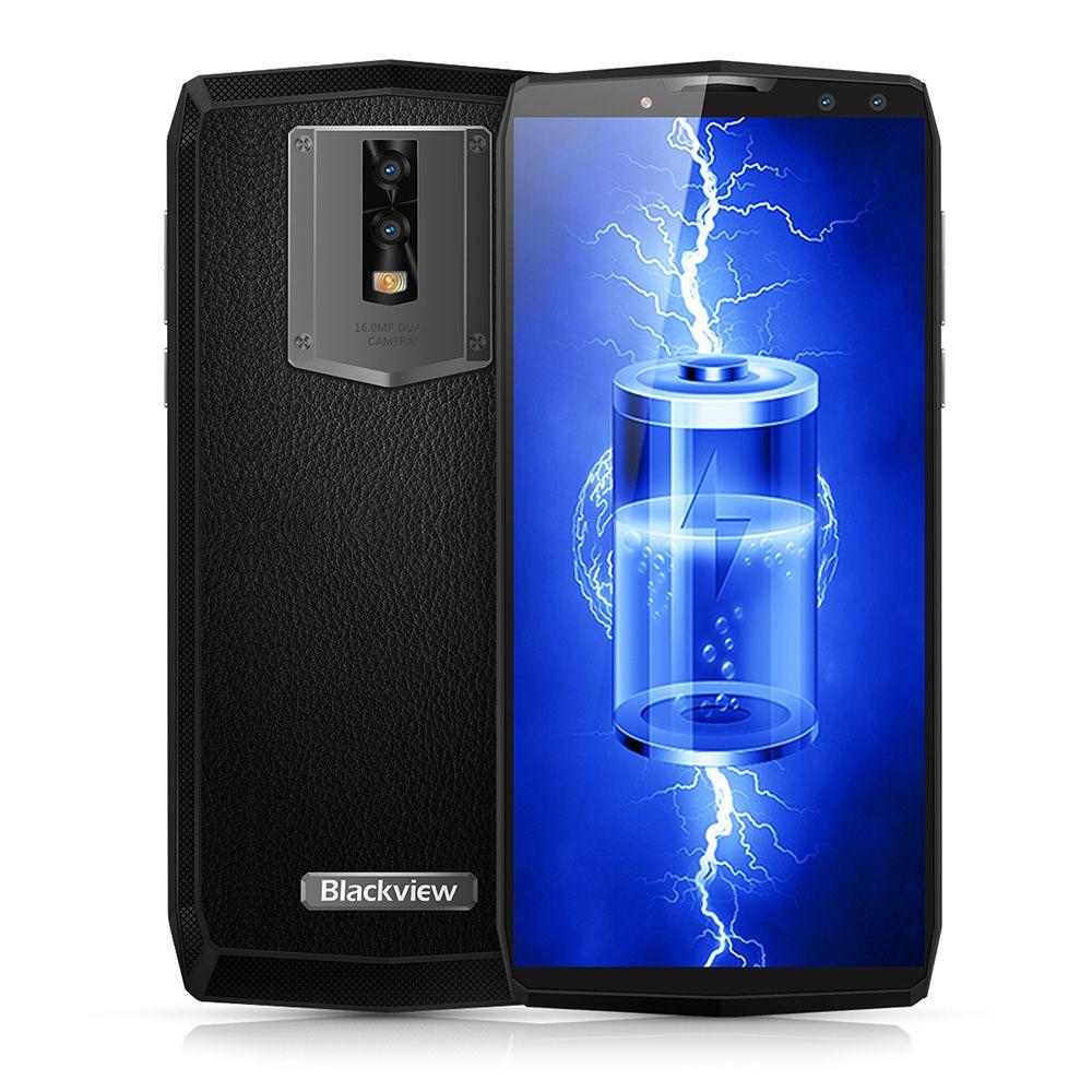 Blackview P10000 Pro 4g 5,99 zoll Android 7.1 MTK6763 Octa Core 2,0 ghz 4 gb RAM 64 gb ROM Quad 4 kameras Leder 11000 mah Batterie