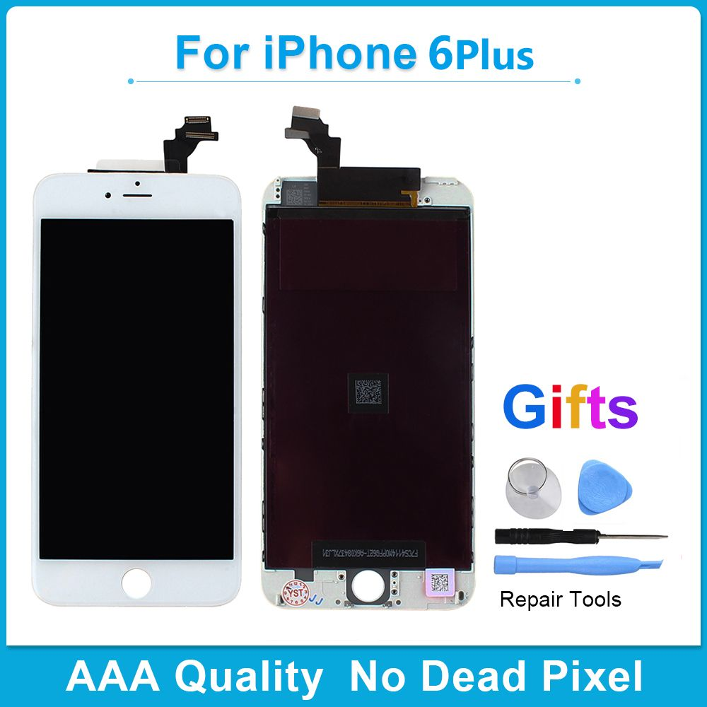 Khisol AAA Grade 100% No Dead Pixel Screen For iPhone 6 6 PLUS 6Plus LCD Display With 3D Force Touch Screen Digitizer Assembly