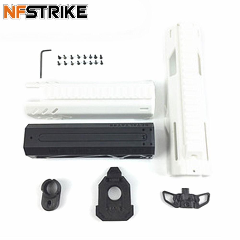 NFSTRIKE Maliang Elite Type Soft Bullet Ball Outdoor Transmitter PDW1 Drop-Down Kit Component For Nerf Retaliator Black White