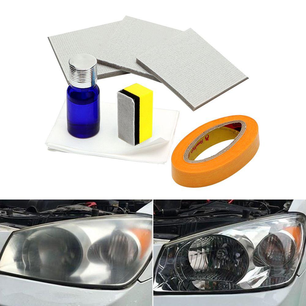 Car Headlamp Polishing Headlamp Brightener Kit Anti-scratch <font><b>Headlight</b></font> Restorstion Kit for Car Head Lamp Lense Restores Clarity