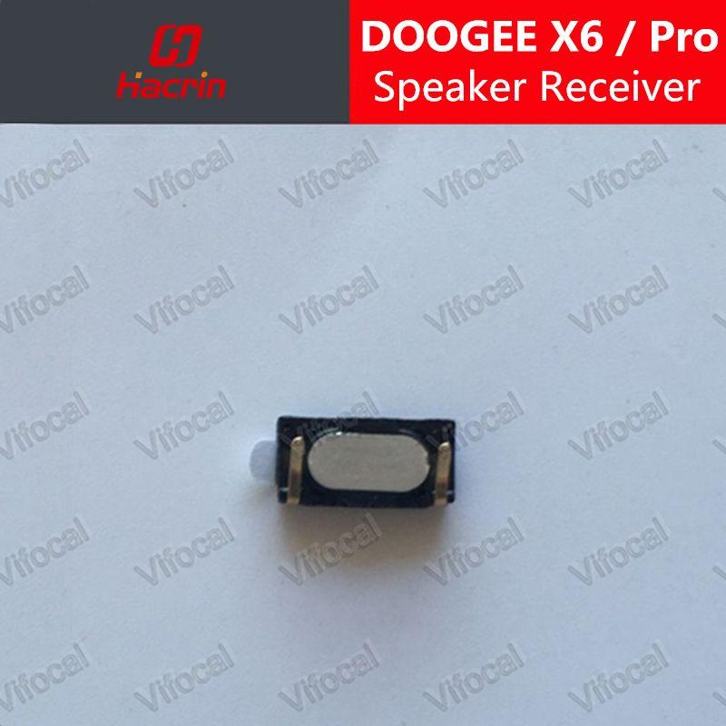 Hacrin DOOGEE X6 haut-parleur récepteur 100% Nouveau Front Oreille Écouteur De Réparation Accessoires Pour DOOGEE X6 Pro mobile téléphone Circuits