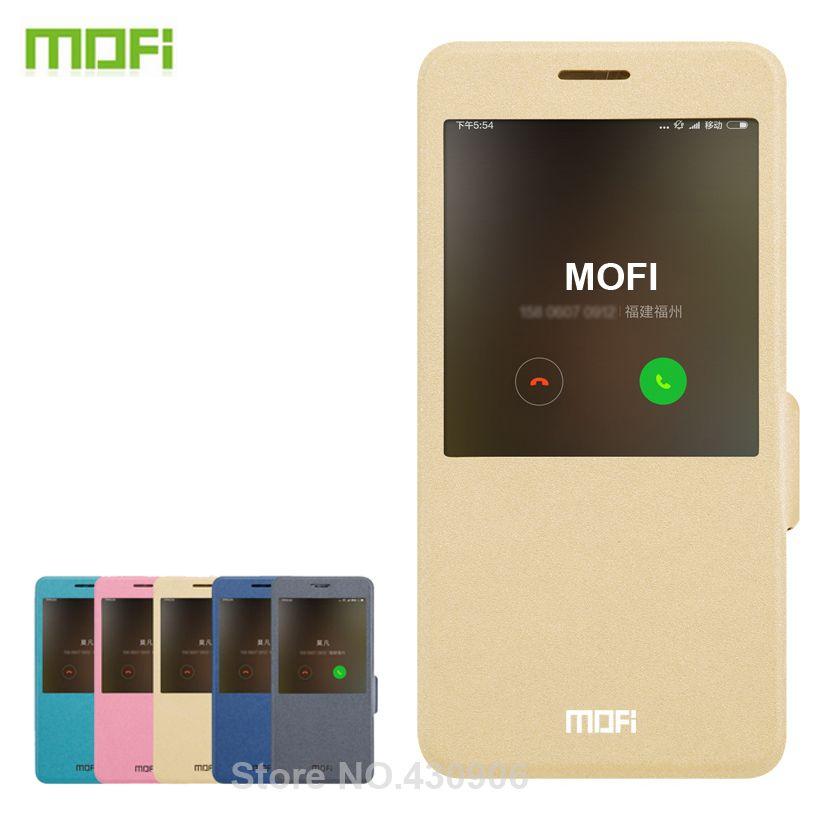 Pour Xaomi Redmi Note 4x Cas MOFI Haute Qualité Flip Étui En Cuir Pour Xaomi Redmi Note 4x Couverture de Téléphone