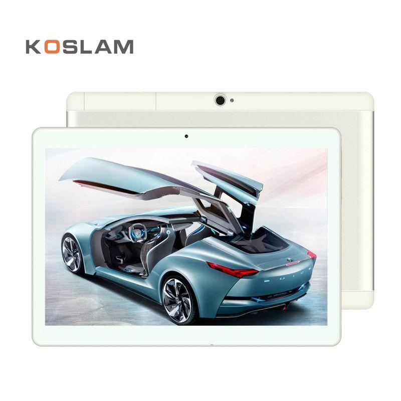 4G Android 7.0 Tablet PC Tab Pad 10 Inch 1920x1200 IPS Quad Core 2GB RAM 16GB ROM Dual SIM Card LTD FDD Phone Call 10