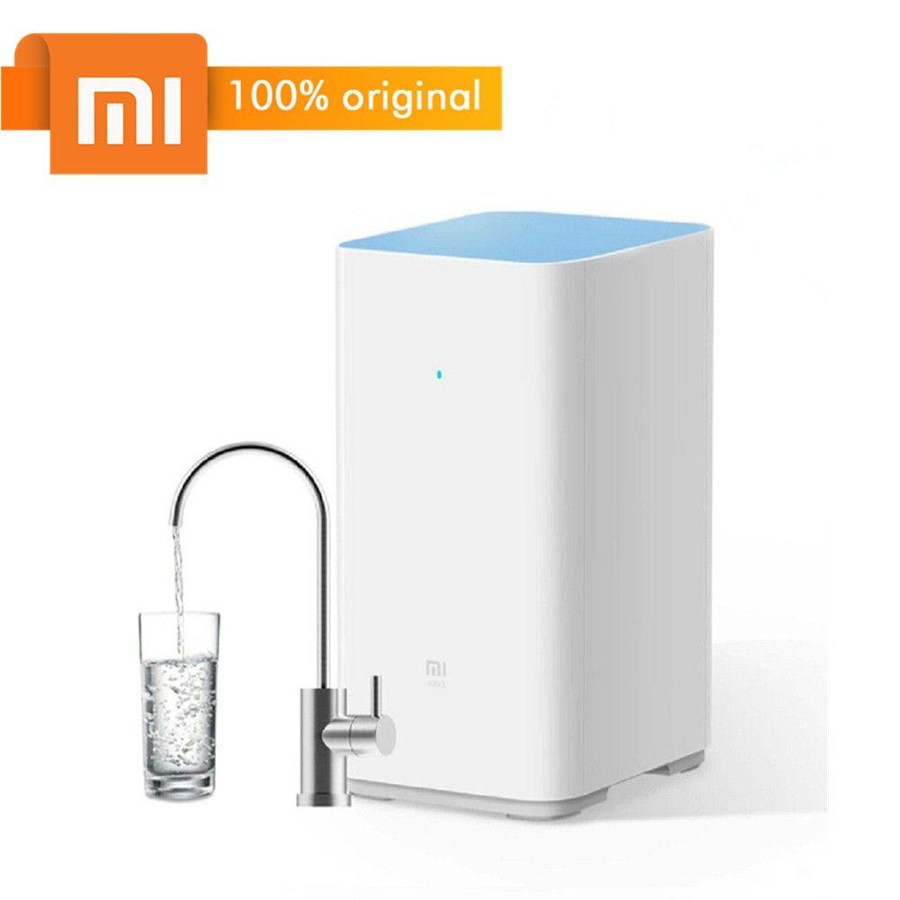 Original Xiaomi Mi Wasserfilter Bewässerung Filter Unterstützung RO Reinigungstechnologie 1200L 400 Gallonen Hohe Fluss Wasserfilter