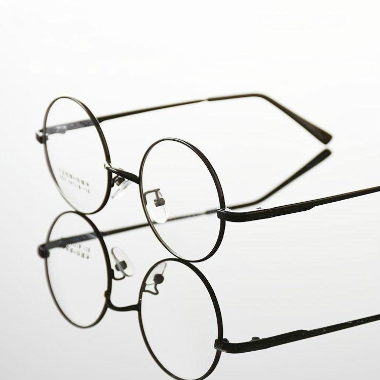 Fashion wizard Eyeglasses High-grade alloy Frame Men women round Eyeglasses Gold Glasses Frames 4 Color 850 Oculos opticos