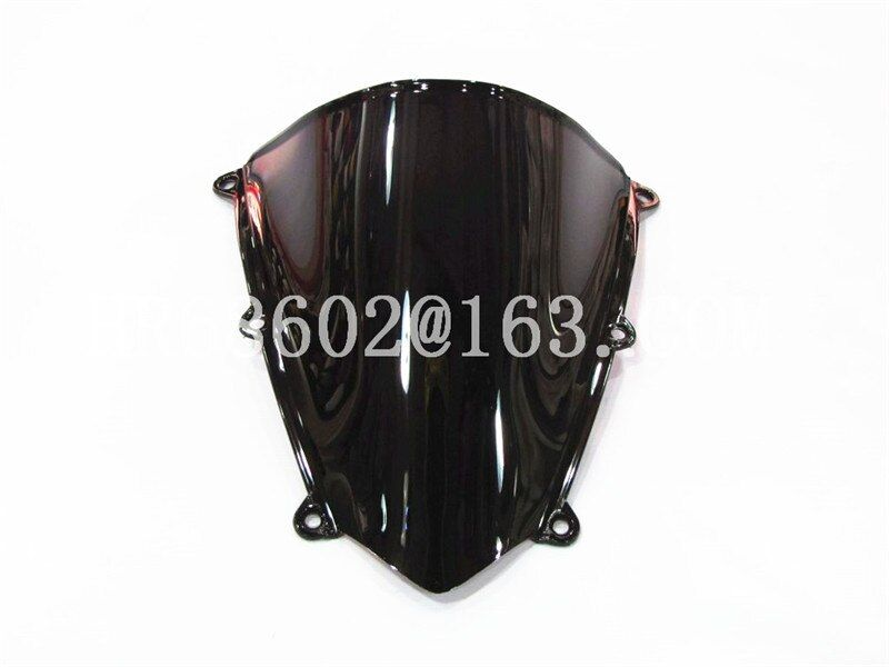 Pour Honda CBR 600 RR F5 2007 2008 2009 2010 2011 2012 Noir Pare-Brise Pare-Brise Double Bulle cbr600 CBR600 CBR600RR