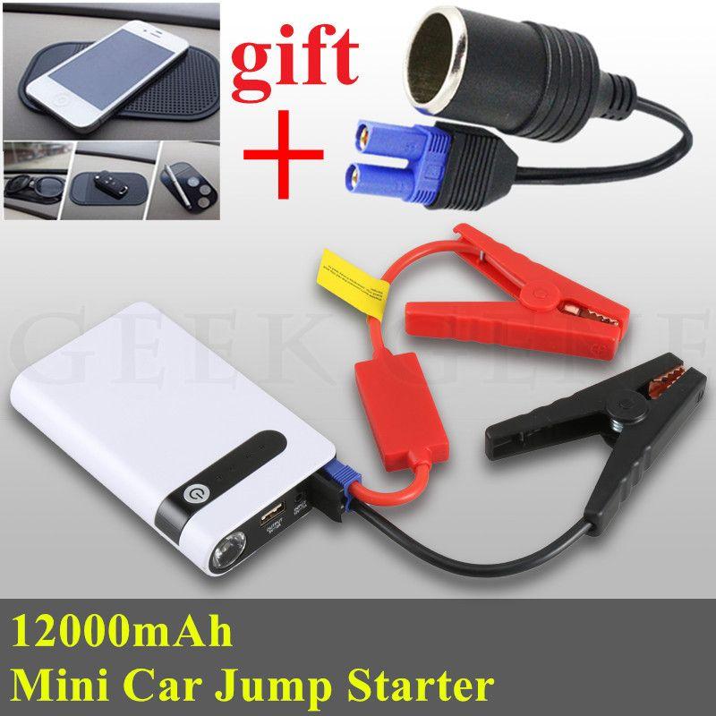Multi-Function 12000mAh Car Jump Starter 400A Petrol Diesel Starting Device Lighter Power Bank 12V Car Charger For Car Battery