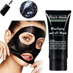 50g Shills Blackhead Remover Deep Facial Masks Deep Cleansing Purifying Peel Off Black Nud Facail Face Black Mask Silicone