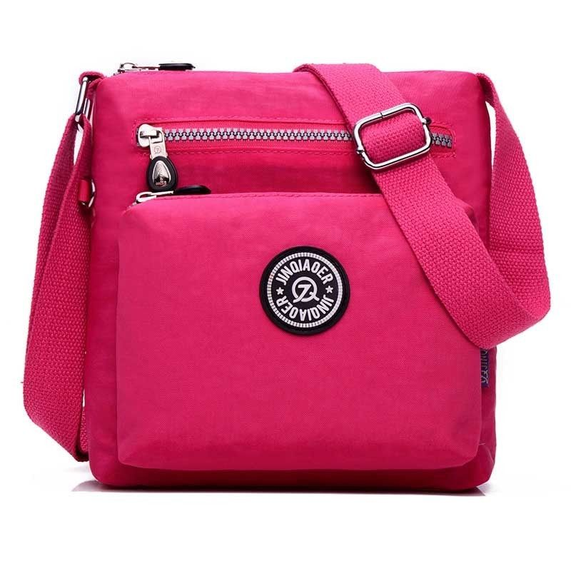 Marca 2017 Mujeres de Nylon Resistente Al Agua bolsas mensajero de las mujeres de alta calidad de Embrague Informal Femenina Viajan Bolsas de Hombro Mini principal bolsos